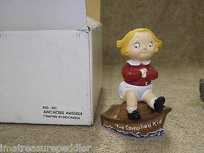 Danbury Mint Campbell Soup Kid Figurine - Anchors Aweigh