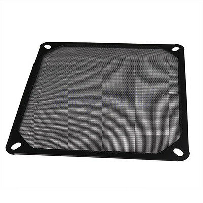 New 140mm Metal PC Computer Chassis Fan Case Strainer Dustproof Filter Black