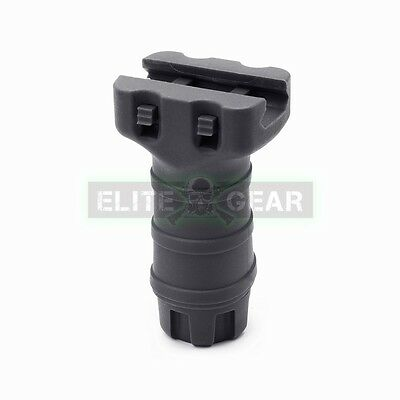 Black Tactical Short Stubby Vertical Fore Grip For 20mm Picatinny Weaver Rail