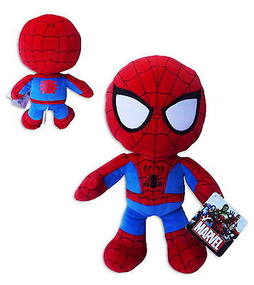 Spiderman 30cm Supersoft Muñeco Peluche Original Película Comic Marvel Heroes