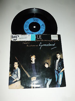 "THE BIBLE - Graceland - 1989 UK 2-track 7"" Vinyl SIngle"