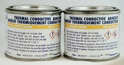 MG Chemicals 8329TCS-200ML Slow Cure Thermal Conductive Adhesive 200ML Can