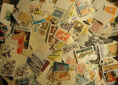 WORLDWIDE postage Stamps From Large collection - Lot, Mint-used 004