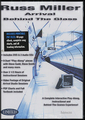 Russ Miller Arrival Behind the Glass Drum Tuition DVD/2CDs