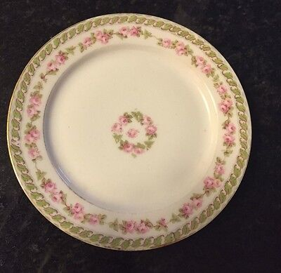 LIMOGES M. REDON -- RDN235 -- Bread Plate