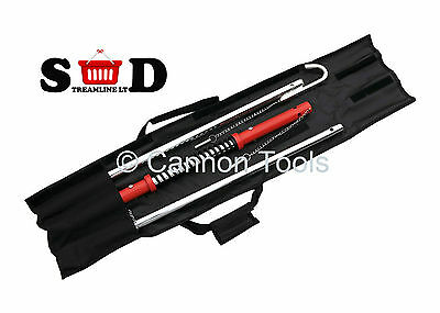 Car Mini Van Vehicle Tow Towing Trail Pull Transport Bar W Damper Spring Ct1558
