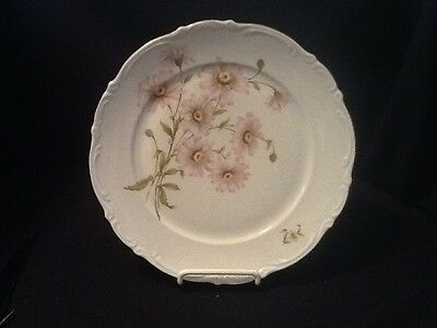 SET 4 FOUR Mitterteich Bavaria German Dinner Plates Daisy Bell Pattern  VINTAGE