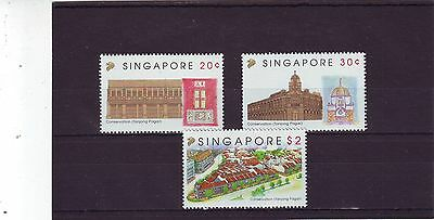 Singapore - Sg715-717 Mnh 1993 Conservation Tanjong Pagar District