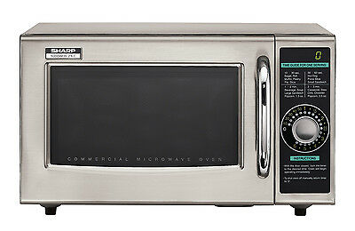 Sharp R-21LCF, Commercial Light-Duty Microwave Oven