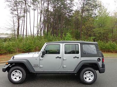 Jeep : Wrangler Sport NEW 2015 JEEP WRANGLER UNLIMITED 4WD 4DR SPORT CONVERTIBLE AUTOMATIC