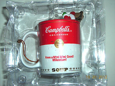 CAMPBELL'S Kids Ornament 1999 - Kids in a Cup