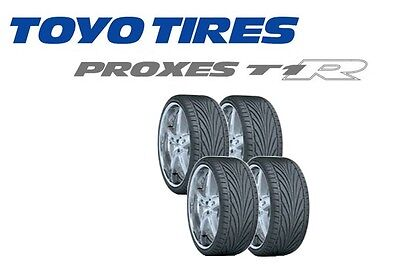 4x Toyo T1R Tyres -Track Day/Road - 205/45 R15 81V (ALL SIZES AVAILABLE)