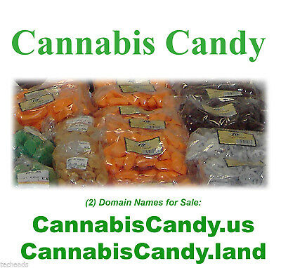 CANNABIS CANDY - American CANNABIS & FOOD Niche Domain Name: CannabisCandy.US