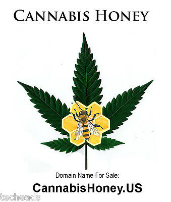 CANNABIS HONEY - American CANNABIS & FOOD Niche Domain Name: CannabisHoney.US