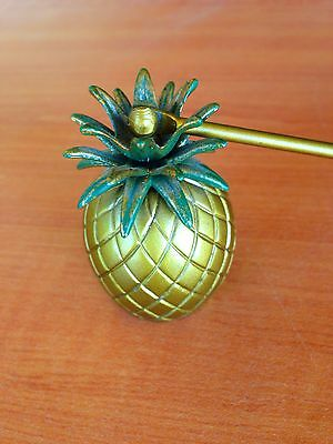 VTG Brass Pineapple Candle Snuffer