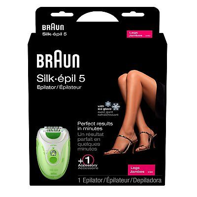 BRAUN Silk-epil 5 Xelle 5180 SOLO LADIES LEGS EPILATOR  *NEW +WARRANTY*