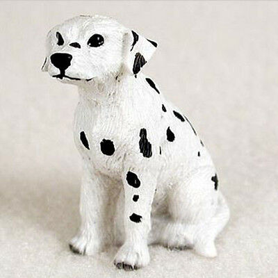DALMATIAN TINY ONES DOG Figurine Statue Pet Lovers Gift Resin