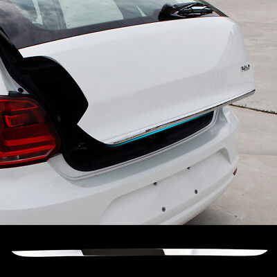 Fit For Vw Polo Hatch Rear Trunk Lid Tailgate Door Edge Cover Trim Strip Molding