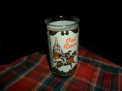 Vintage 1776 Heritage Collectors Series Paul Revere COCA COLA 12 oz. Glass