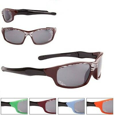 Flame Wrap Around Sunglasses Kids Children Toddlers 100% UV400 Protection 62