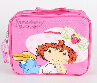 Strawberry Shortcake Insulated Lunch Bag Girls Snack Lunch Box