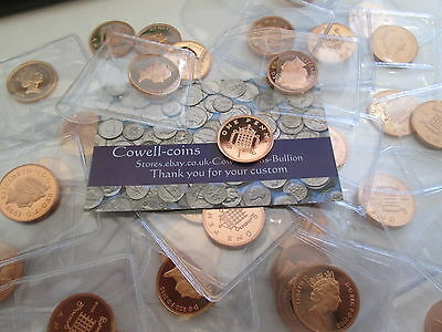UK Proof Penny 1p Mint Condition! 1970 - 2008  great condition VARIOUS YEARS
