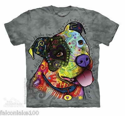 Pure Joy Pit Bull T-shirt by the mountain,pit bulls,dogs,love pitbulls