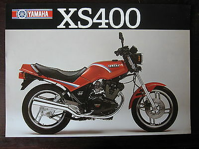 Catalogue Prospectus   1982 Yamaha  Xs 400