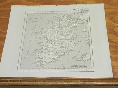 1817 Antique Print/IRELAND