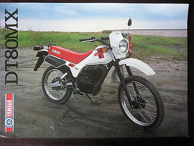 Catalogue Prospectus Brochure  1983  Yamaha   Dt 80 Mx