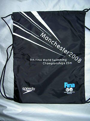 Speedo Event Souvenir Manchester  Print Black  Kit Bag.