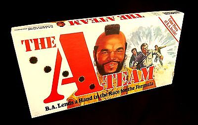 The A-Team Board Game-1984 B A Lends a Hand (Mr T) - Parker Brothers Australia
