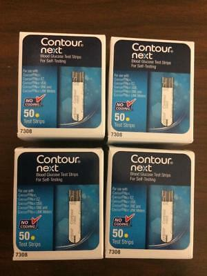Bayer Contour Next Blood Glucose 200 Test Strips Expiration Date: 02/27/2019