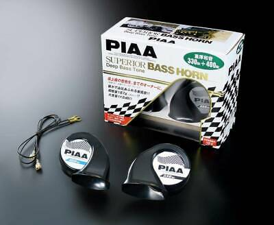 PIAA Dual Tone 1X330Hz 1X400Hz With Weather Resistant Cover (Twin Pack) H09