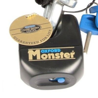 Oxford Monster Ultra Strong Lock PADLOCK ONLY For Motorcycle Chains Security