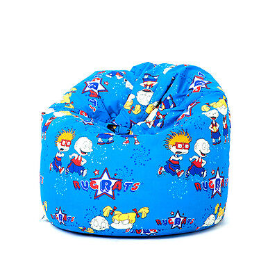 Rugrats Bean Bag Children's Kids Seat Chair Boys Girls Bedroom Seating Filled