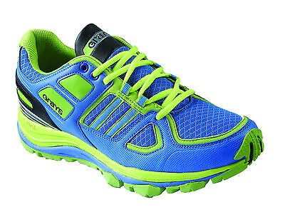GRAYS G7500 MenÂ's Hockey Shoe Astros Trainers Blue Lime Green