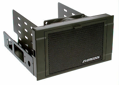 "New Evercool HD-AR-B ARMOR 2x 5.25"" Drive Bay to 3x 3.5 HDD Cooler"