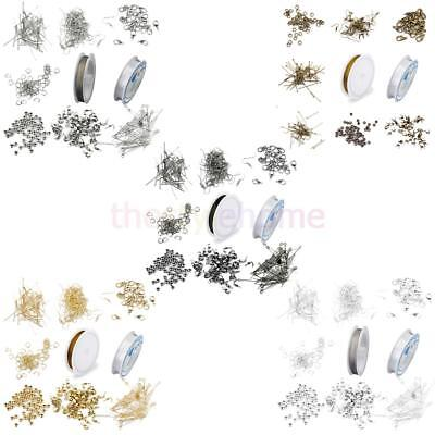 Jewellery Making Components Starter Kit Tools Cords Findings Charms Beads