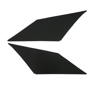 1968-1969 Camaro & Firebird Sail panels pre-covered  Ribbed pattern  Black