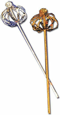 Morris Costumes Scepter Sequin Gold. BB67GD