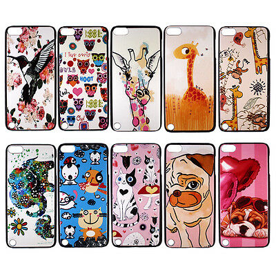 Cute Animal Hard Back Case Cover Skin for Apple iPod Touch 5 gen 5th generation