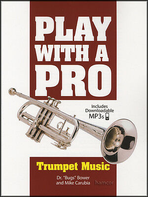 Play with a Pro Trumpet Sheet Music Book & DLC Audio Access Play-Along
