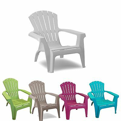 Adirondack Chair for Garden Patio Chair Lounger Option of 5 colours