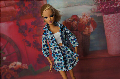 A2015 New Handmade Doll Clothes Jumpsuit Children Gift For Barbie Girl Doll c288