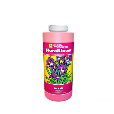 General Hydroponics Flora Bloom - 473ML / 946ML / 3.79L /22.71L | Base Flower Nu