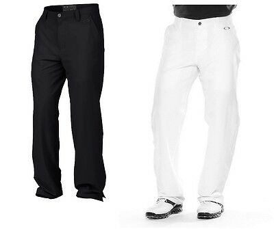Oakley Men's Take Golf Trousers Pants Black Or White 30-38 Waist New