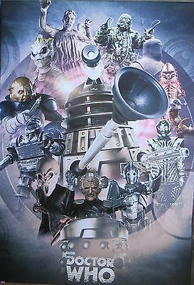 Doctor Who -Enemies Through Time-Licensed POSTER-90cm x 60cm-Brand New