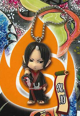 ❤Hozuki no Reitetsu❤Mini Defome Figure Mascot Strap Key Chain❤Hozuki❤JAPAN ZA