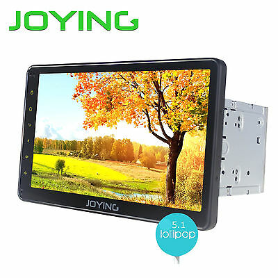 "10.1"" Android 5.1  2Din Tablet Car Naivagation Stereo Radio Quad Core 1024*600"